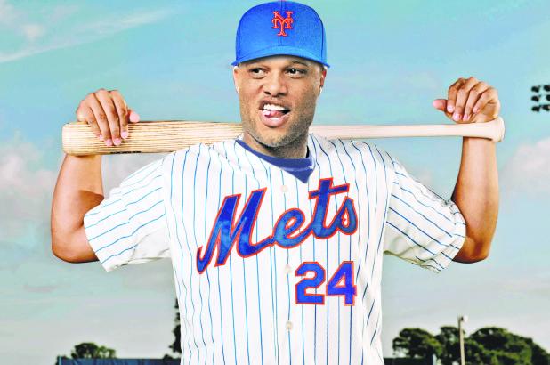 Mets 2B Robinson Cano (NY Post photo composite)