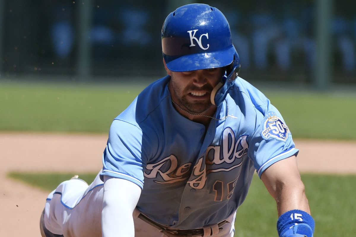 Royals Second Baseman Whit Merrifield (Photo by Ed Zurga/Getty Images)