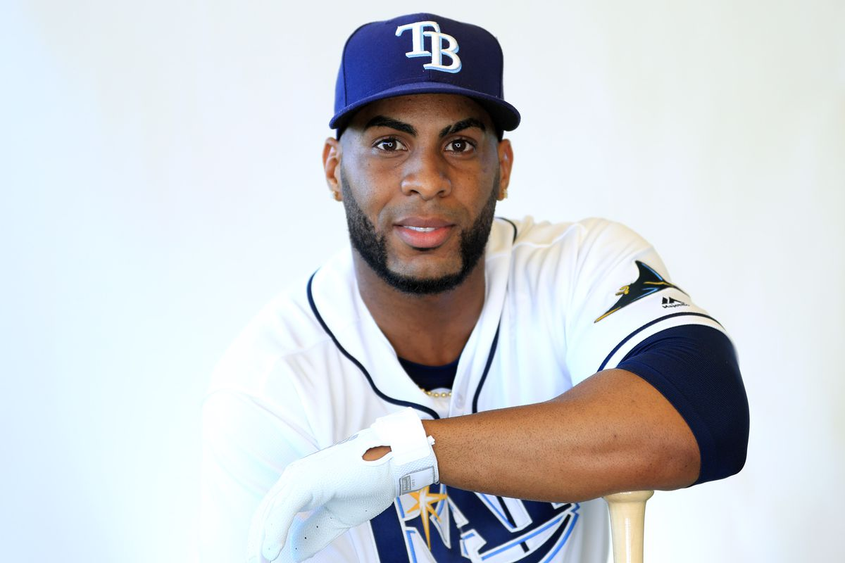 New Rays Infielder Yandy Diaz (Photo by Mike Ehrmann/Getty Images)