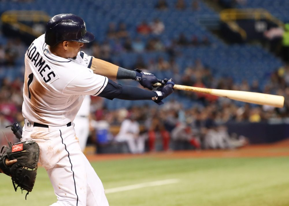 Rays Shortstop Willy Adames (Photo: USA Today Sports)