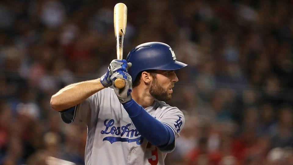 Dodgers utility man Chris Taylor (Getty Images)