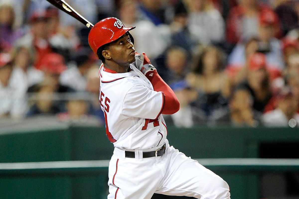 Nationals outfielder Victor Robles (Photo by Greg Fiume/Getty Images)