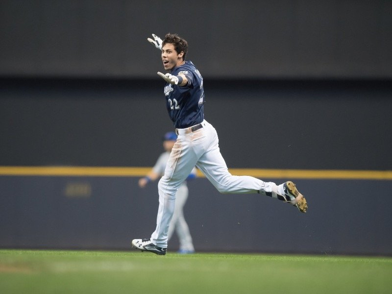 Brewers Outfielder Christian Yelich (Photo: Milwaukee Brewers Facebook)