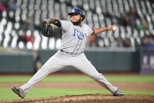Rays Reliever Jose Alvarado (Photo: Mitchell Layton/Getty Images North)