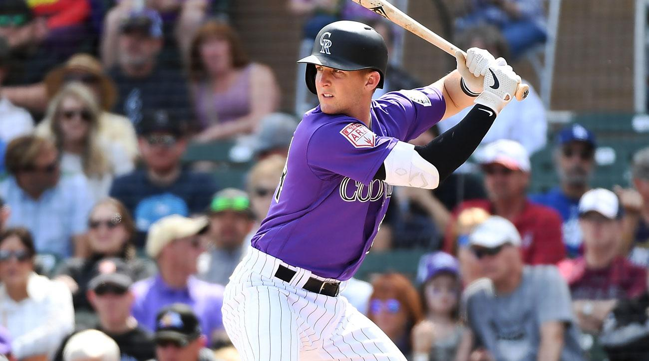 Rockies IF Ryan McMahon (Photo: Sports Illustrated)