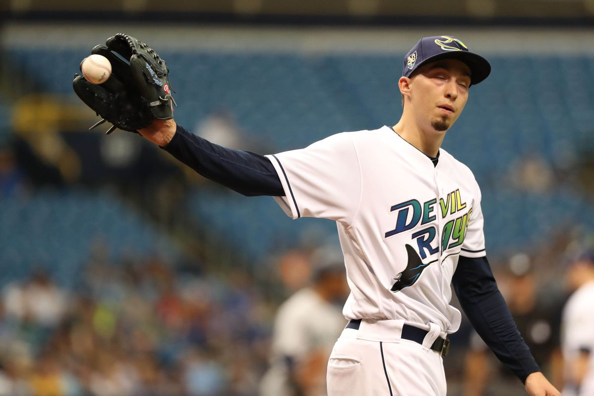 Rays Pitcher Blake Snell (Photo: Kim Klement-USA TODAY Sports)