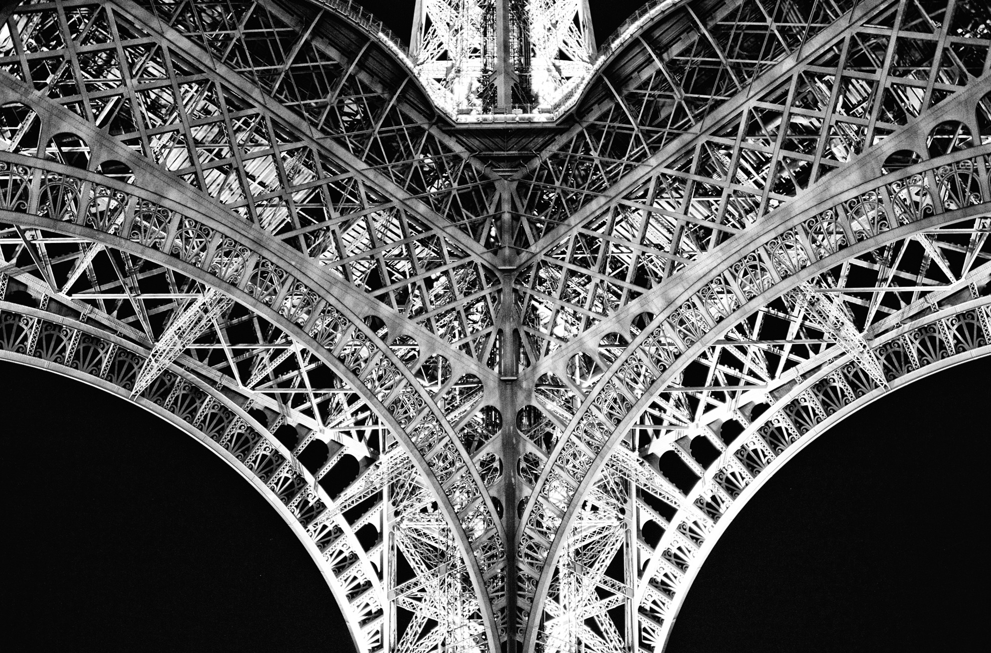 "PARIS  by Andre Vittorio 20"" x 30"" print on metallic paper mounted on aluminum"