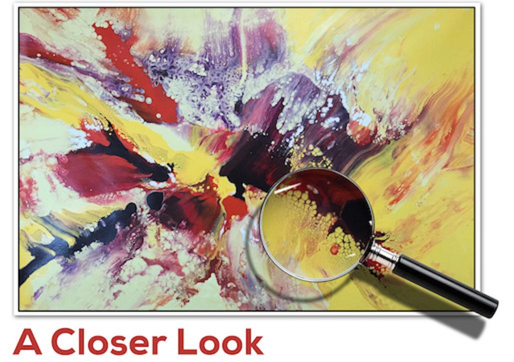 A CLOSER LOOK  image by Gary Barnett