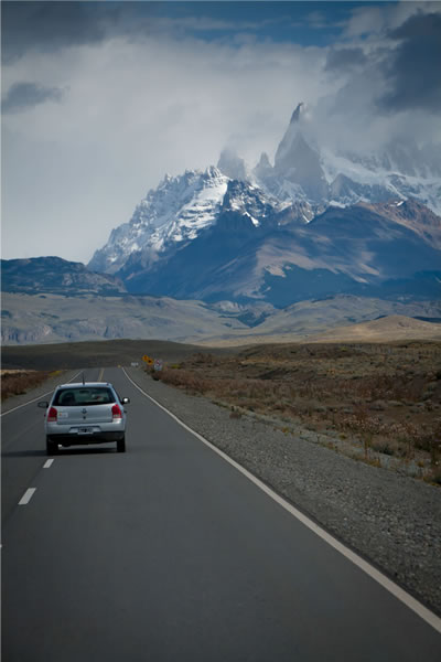 PATAGONIA MASSIF  by Robert J. Brodey -custom print with Pro Luster Laminate on Dibond