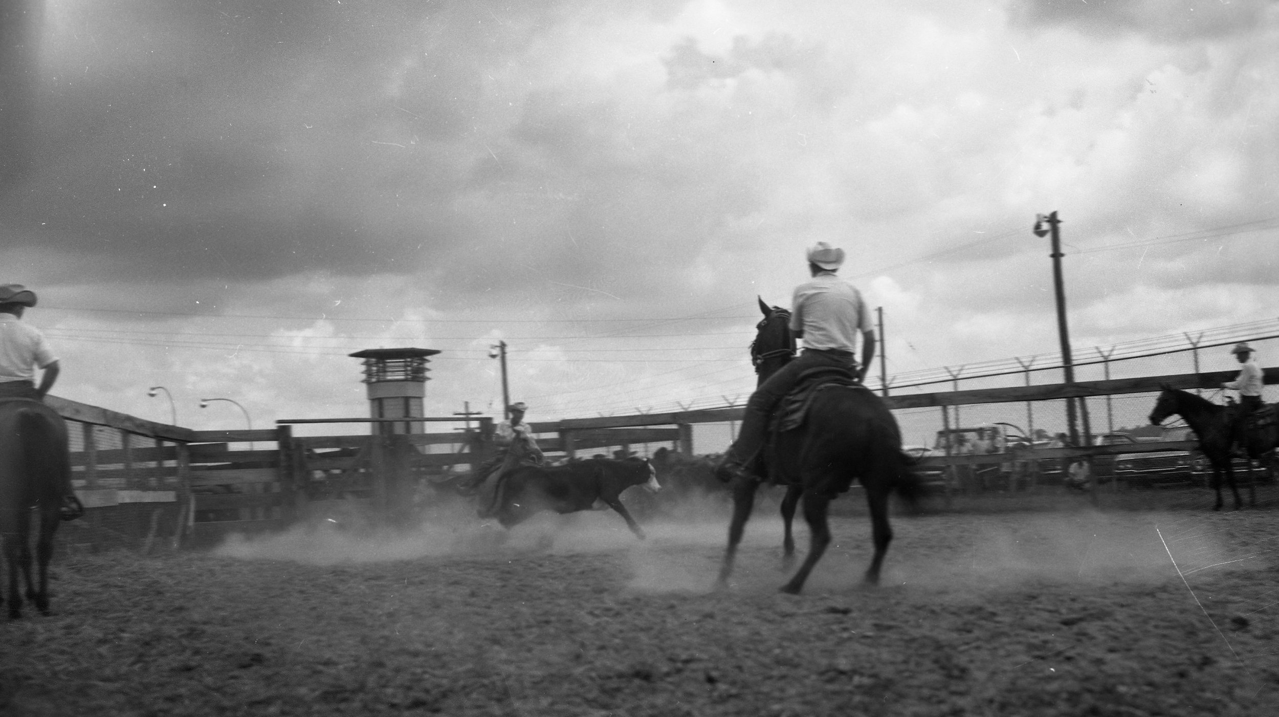"""The first Angola Prison Rodeo in 1965.""; Credit: Courtesy of the Louisiana Department of Public Safety and Corrections, 6 September 1965."