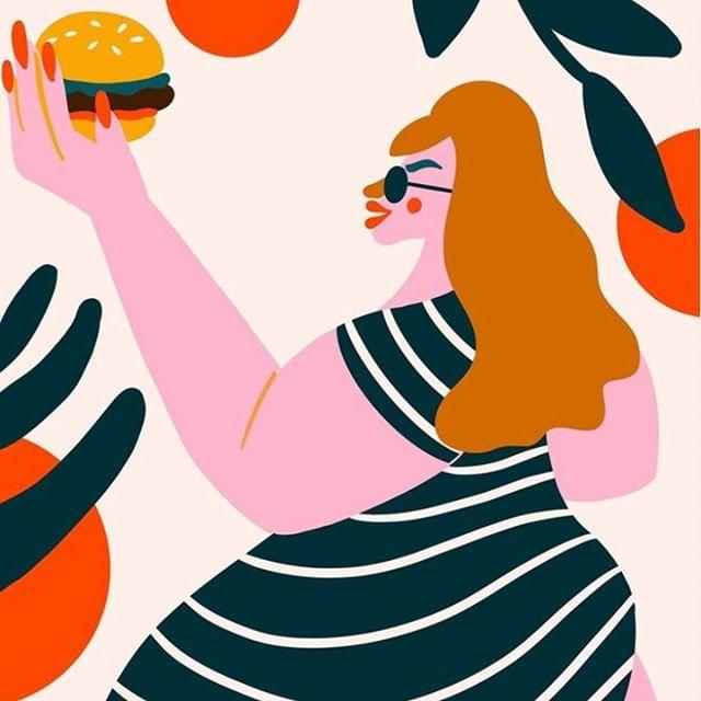 Burger inspo by @yeahyeahlynn 😎 🍔 👌
