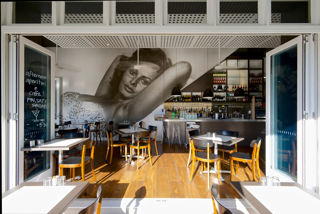 The Italian Diner in Bangalow, a favourite thing to do in the area, taken by Bennys Cottage