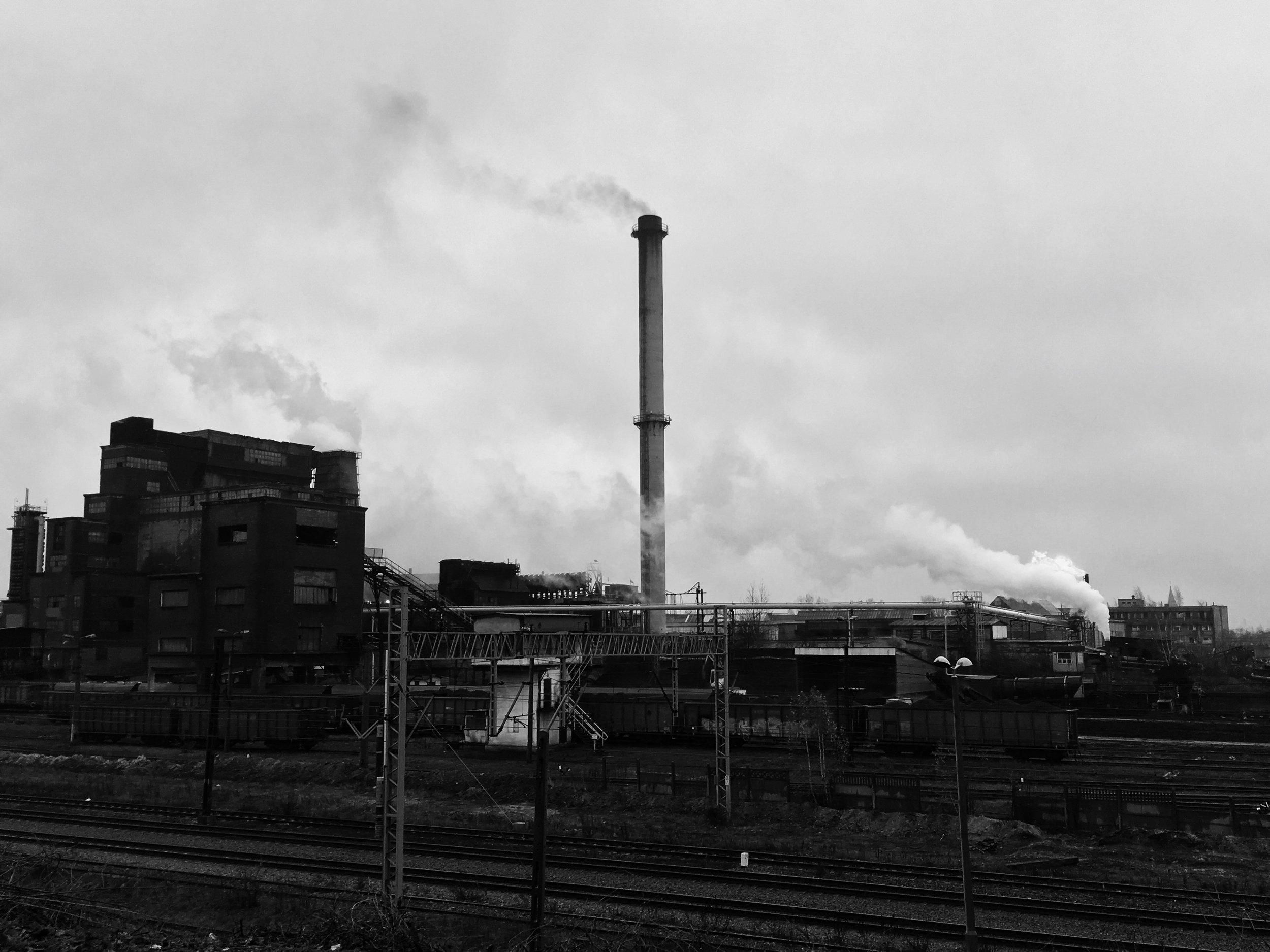 L'aciérie de Bobrek, près de Bytom, vingt minutes par train de Katowice.