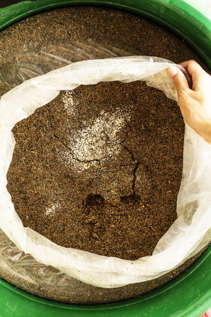 Make your own Bokashi - Bokashi composting is an anaerobic process that relies on inoculated bran to ferment kitchen waste, including meat and dairy, into a safe soil builder and nutrient-rich tea for your plants.