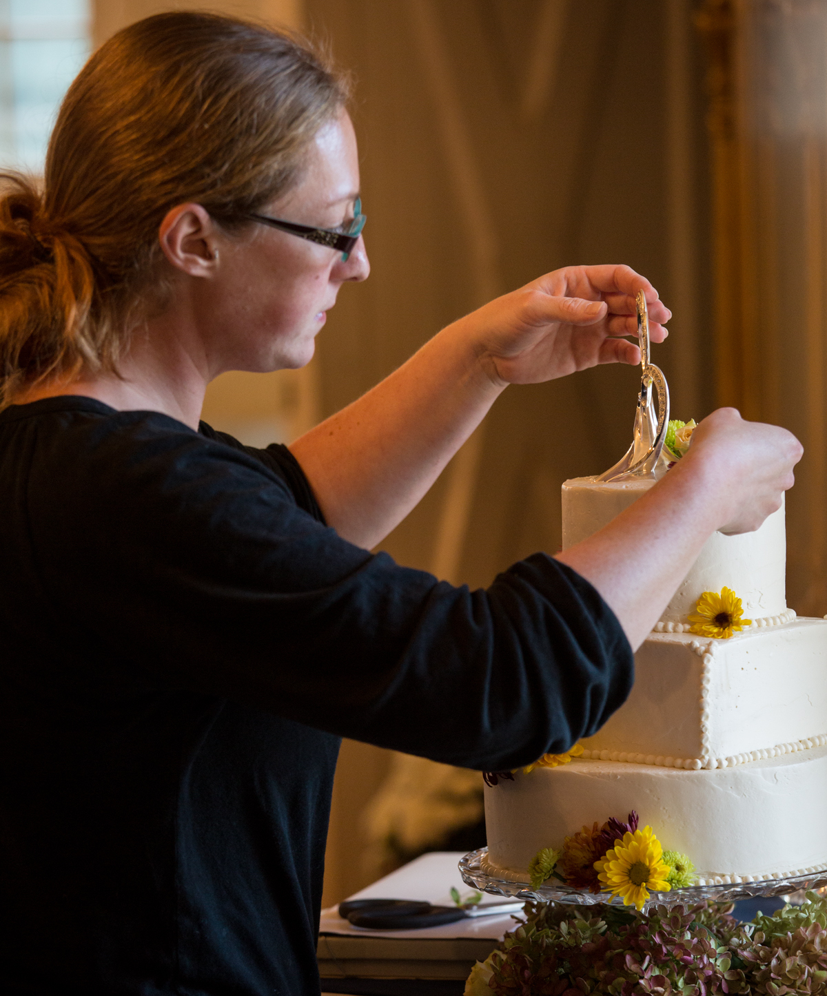 Meet Chef Danie - A graduate of Culinary Institute of America and Pennsylvania Culinary, Sous and Pastry Chef Danielle Hunter is renown for her delicious and stunning wedding cakes — as well as mini dessert trays, such as crème brûlée and chocolate crème brûlée, mini pies, cobblers and assorted cheesecakes.