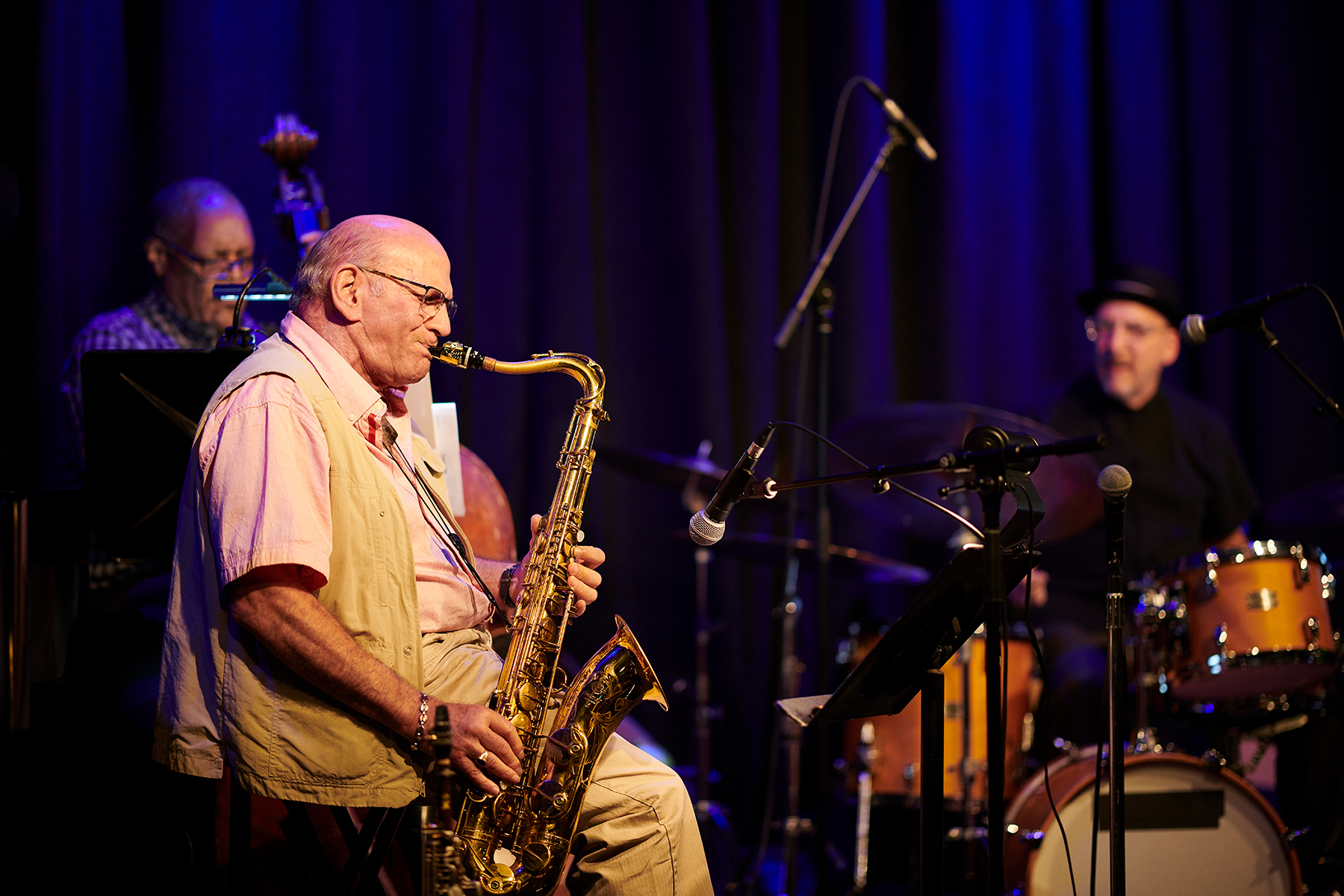 with David Liebman