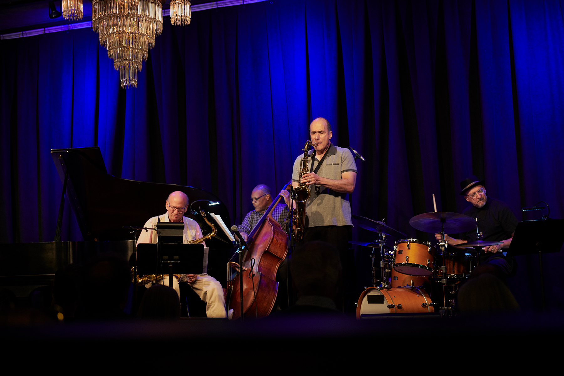 with Keith Oxman, Ken Walker, David Liebman & Jeff Jenkins