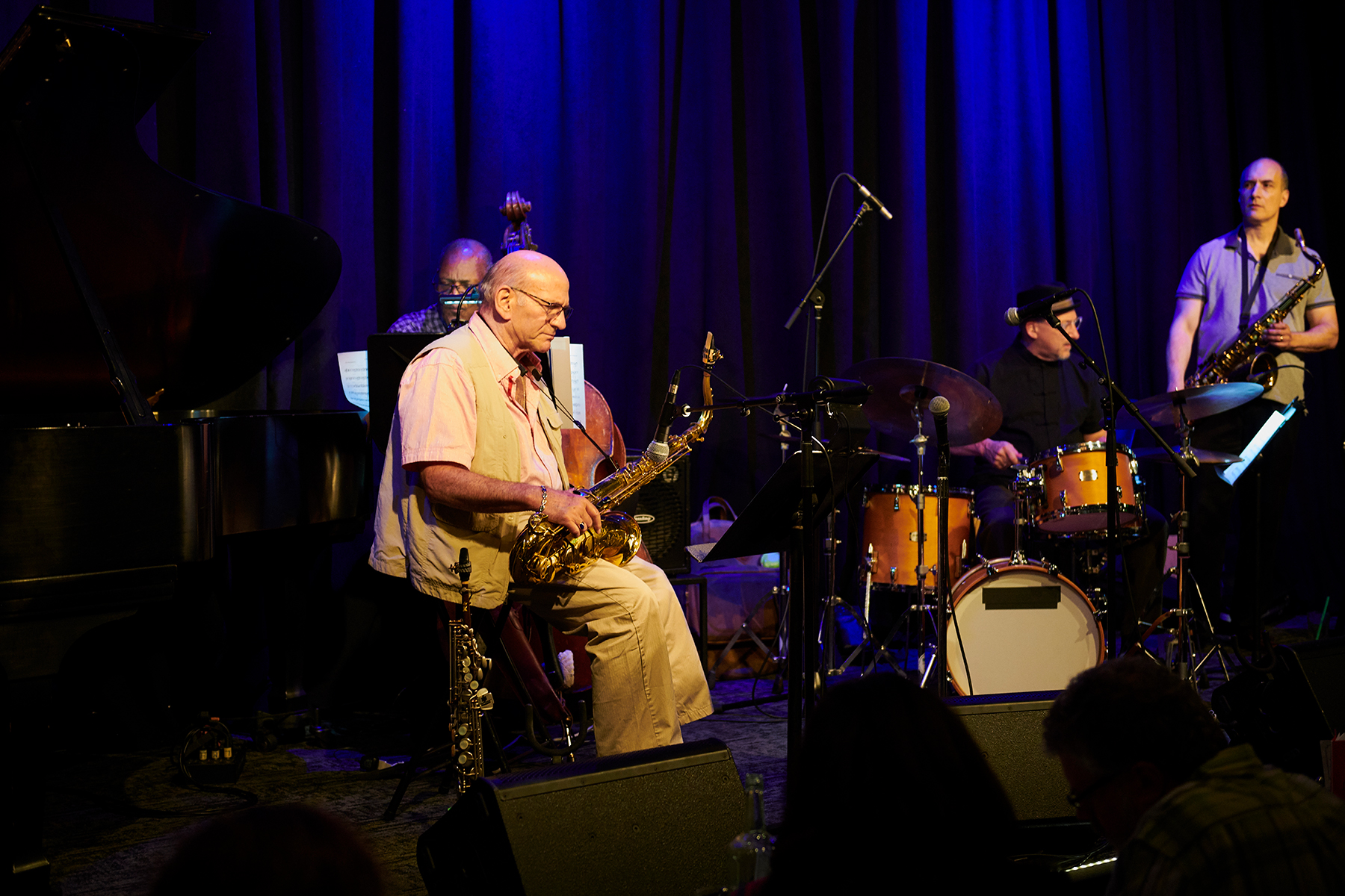 with Keith Oxman, David Liebman, Ken Walker & Jeff Jenkins