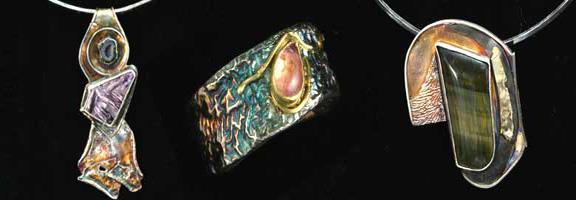 Pat Phillips samples of beautiful jewelry