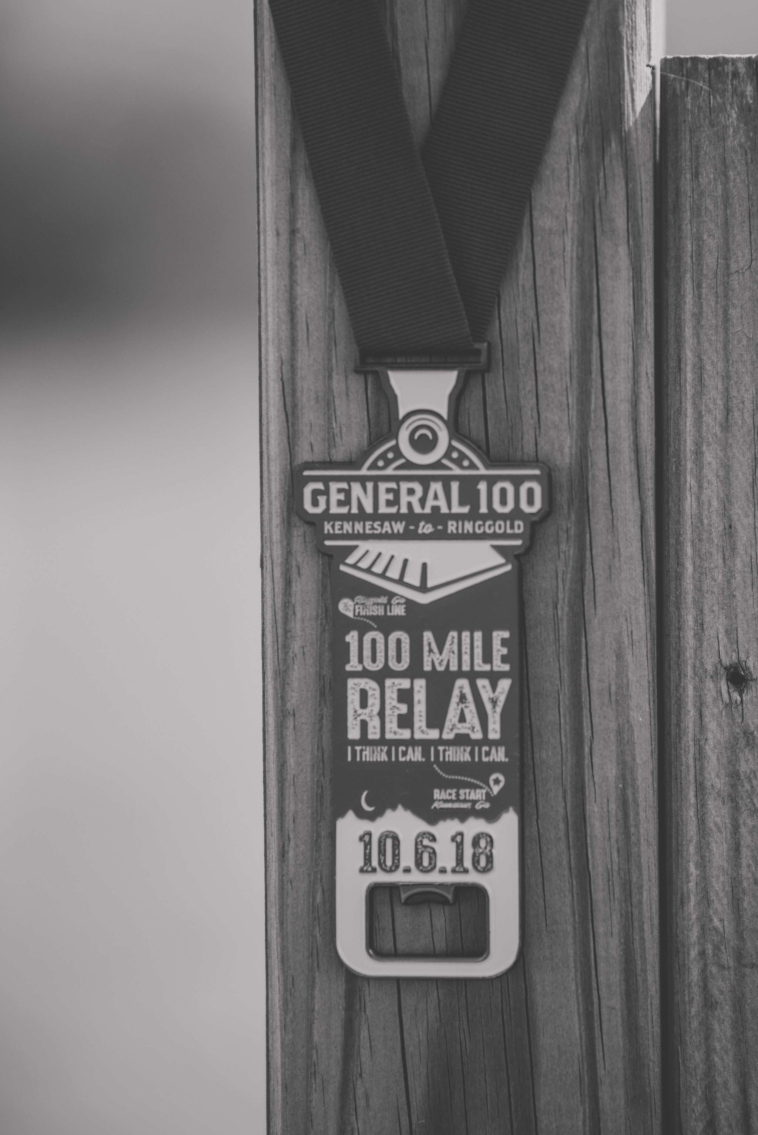 "About the Relay - The General 100™ is a 4- or 7- member team running relay covering 100 miles of beautiful, challenging terrain beginning in Kennesaw, Georgia. The course primarily follows scenic country roads winding its way through North Georgia's historic sites to the finish line in Ringgold, Georgia.The race route faithfully parallels the railroad from Kennesaw to Ringgold following the route of the famous ""Great Locomotive Chase."" On April 12th, 1862, Union soldiers stole ""the General"" locomotive and several train cars in Big Shanty (Kennesaw) and headed north for Chattanooga. They were quickly pursued with a separate locomotive, by hand-car and finally on foot by the General's resourceful conductor.Only 1 team member will take the road at a time. While this individual is completing his or her leg of the relay, the remaining team members will travel by vehicle to the next timing station/exchange point.Sign Up 