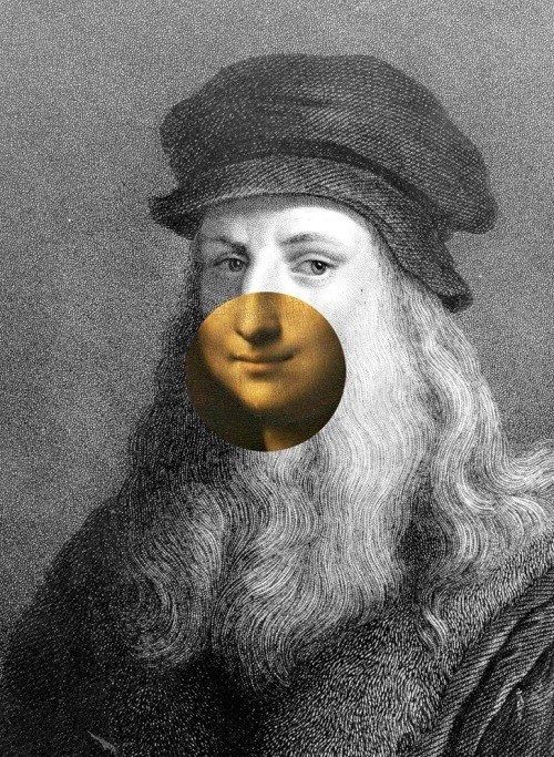 Leonard da Vinci as depicted by    The New York Times
