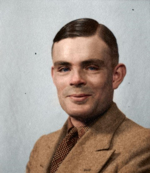 Alan Turing   , father of the modern computer and artificial intelligence