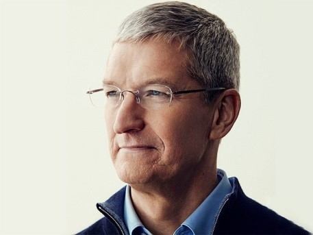 Tim Cook   , current CEO of Apple