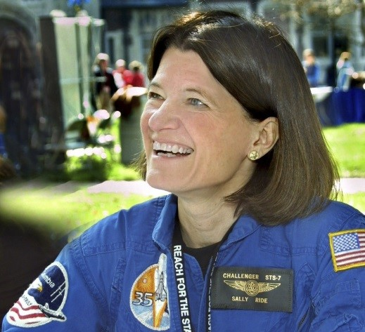 Sally Ride   , the third woman in space overall and only person to investigate both the Challenger and Columbia missions