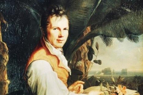 Alexander von Humboldt,    courtesy of Welt