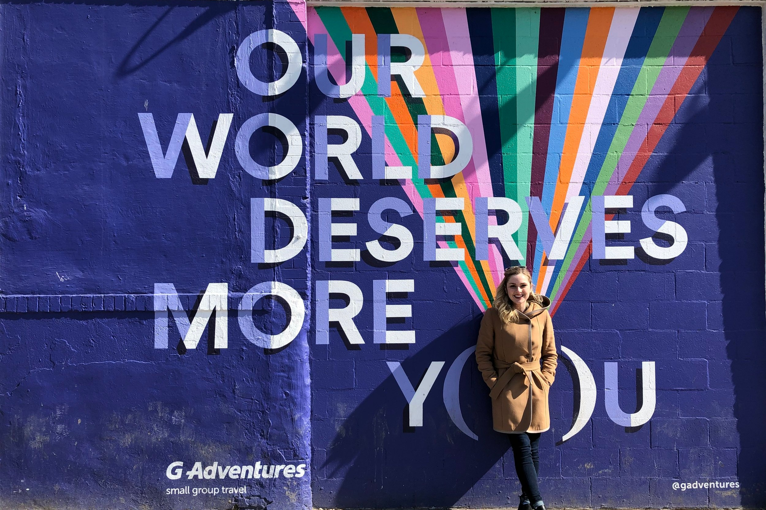 Our world deserves more (burn-out free) you. Also - no sponsorship here, just cool murals.