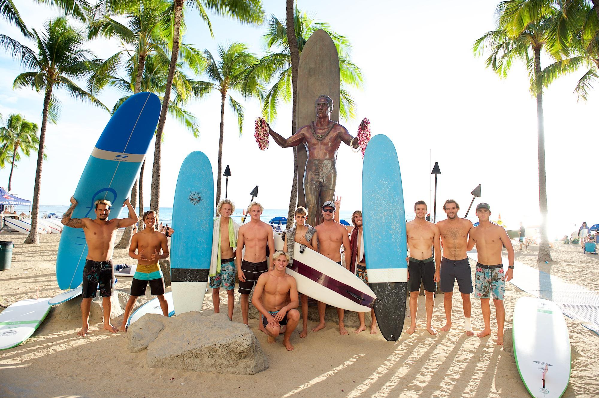 Waikiki Surf Daywith the Billabong Team - December 2018