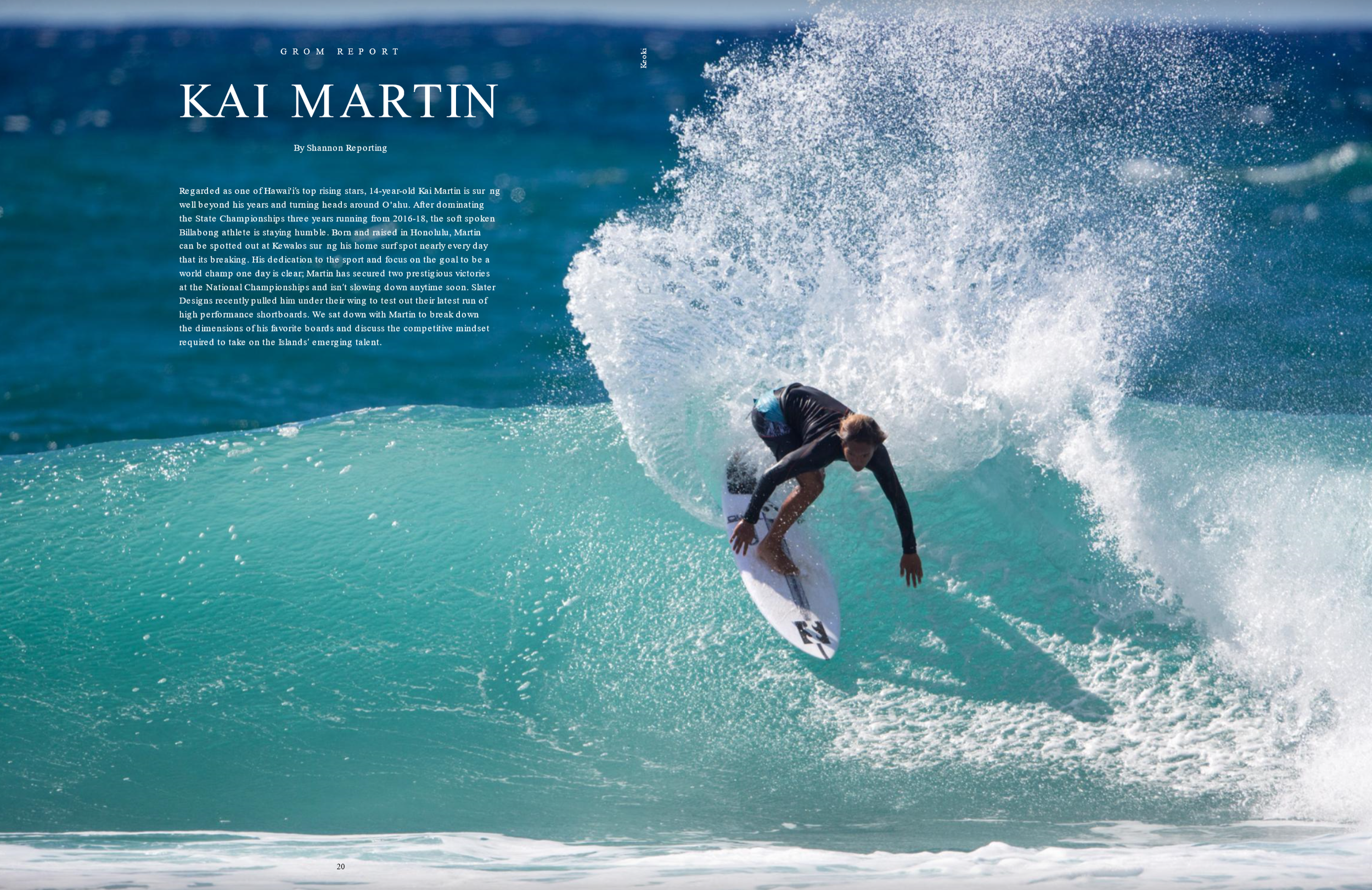 — Freesurf Magazine V16 #5 / Photo: Mike Latronic