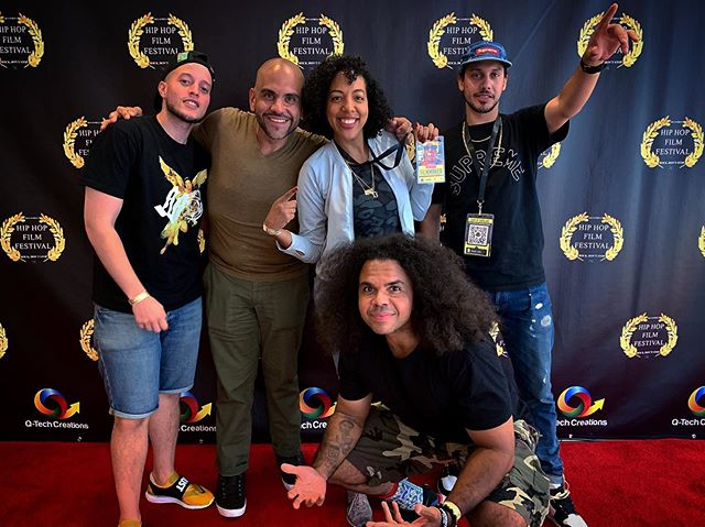 $ Price going up, on a Thursday $ 📈📈📈📈📈 Shoutout to the gang @pattydukes @rephstar @dominiccolon  @powermalu  @_mannyurena  #### Thank you @hiphopfilmfestnyc for the platform, @theorossi for the opportunity, and @rotimipaul for the support.  #### You know the vibes!!! #circa95 #hiphopfilmfestival
