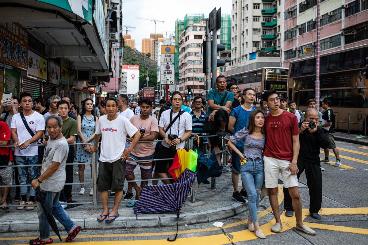Bystanders in Sham Shui Po.