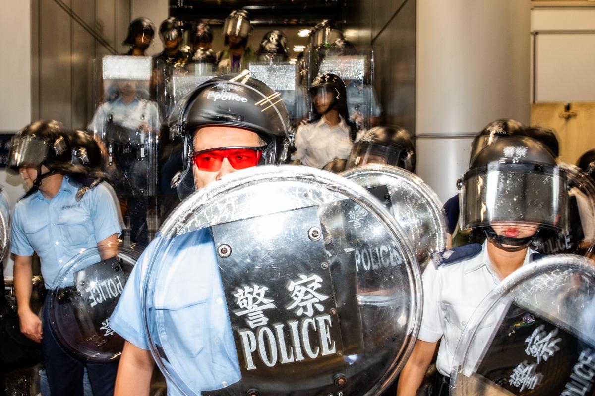19.08.17 - Mong Kok police station