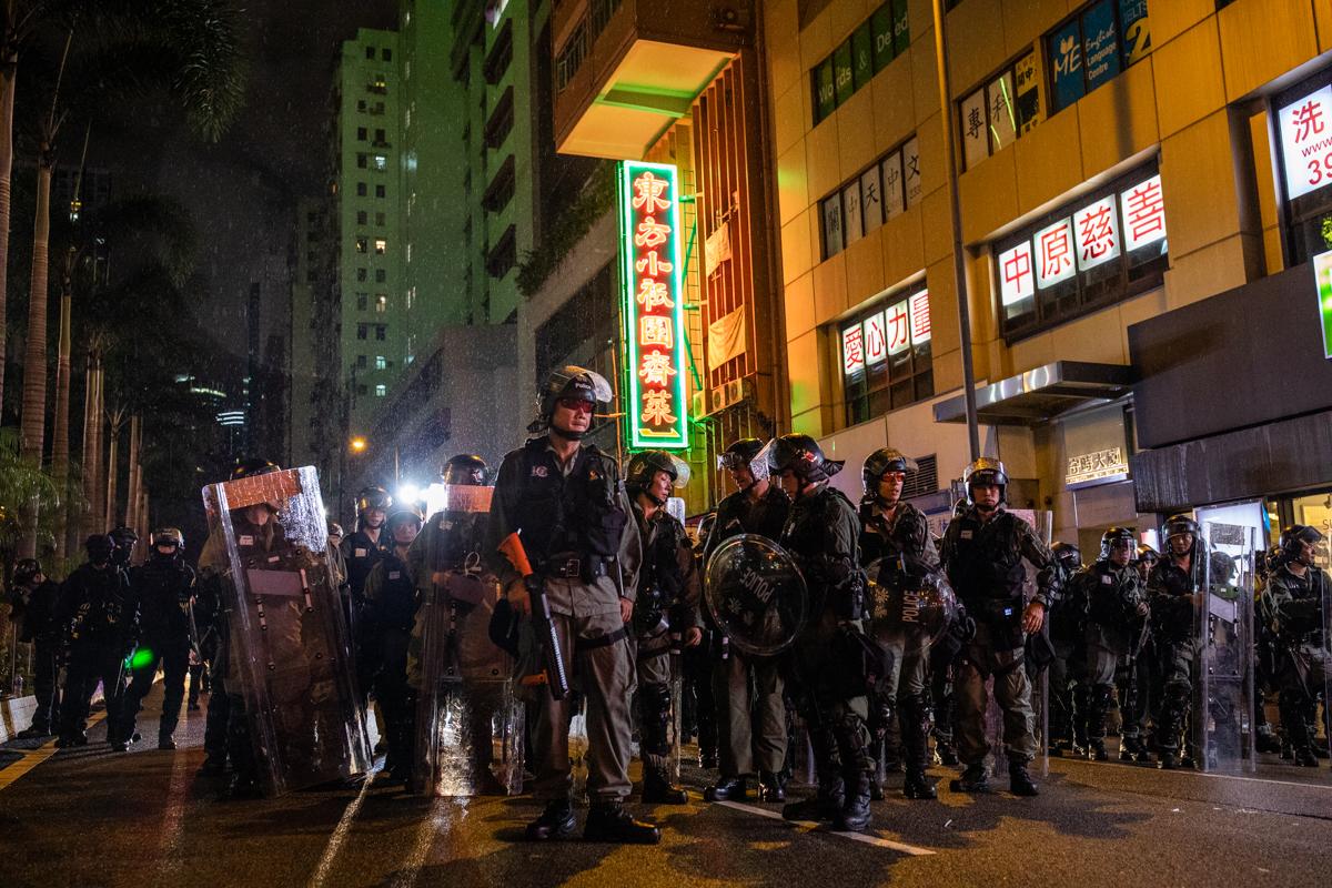 Wong Kar-wai police photo.
