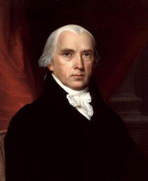 Vanderlyn, John.  Portrait of James Madison . 1816, painting.