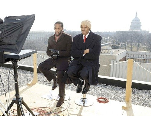 With Jeff Johnson covering the inauguration of President Barack Obama.