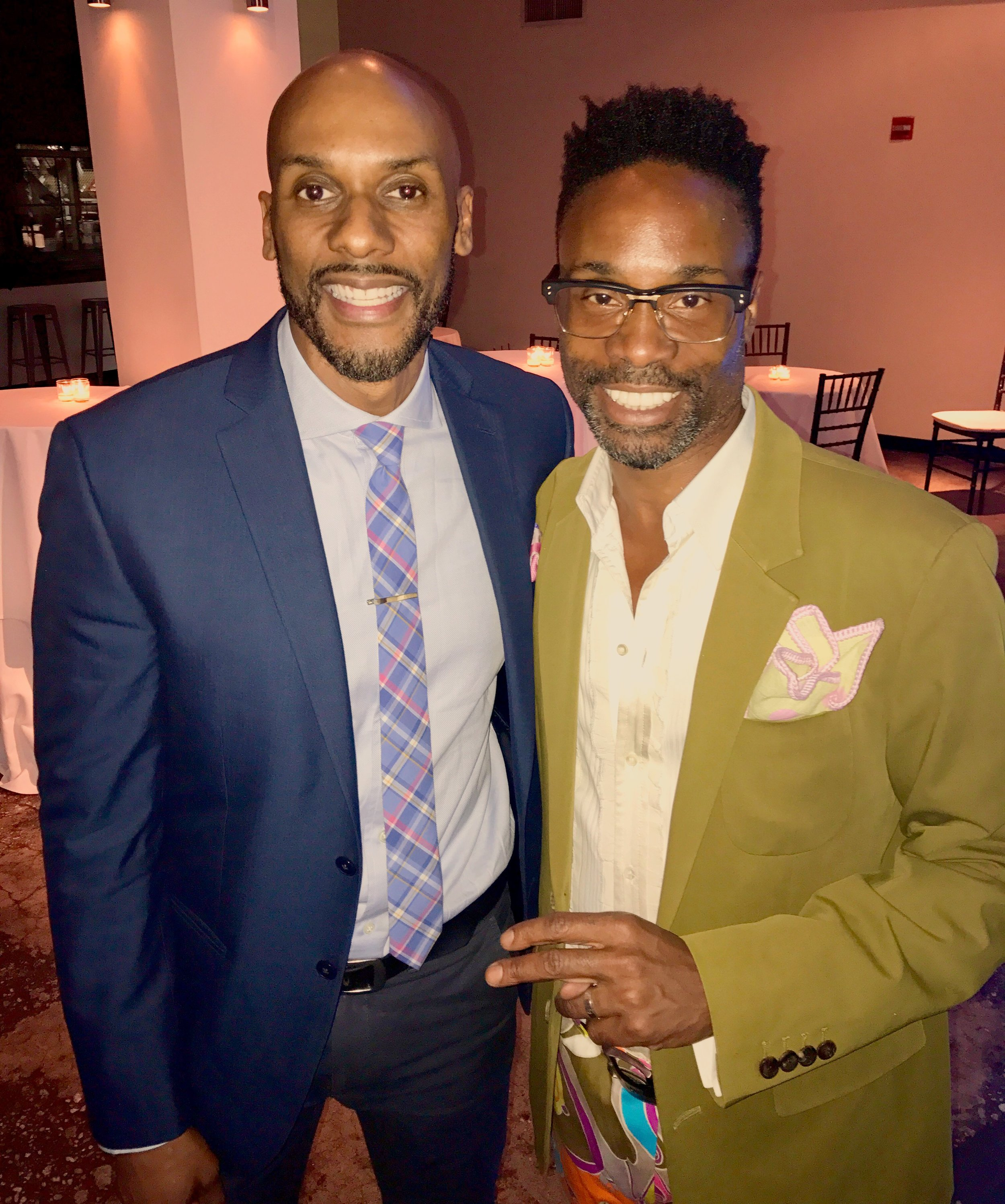 "With ""Pose"" star Billy Porter"