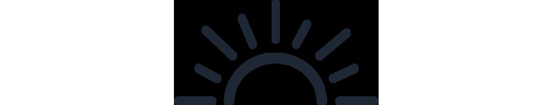Tide Marketing Sun Icon