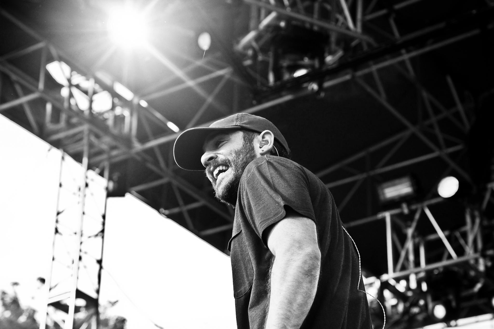 Jon Bellion performing at Bunbury. Shot for Ellenwood EP