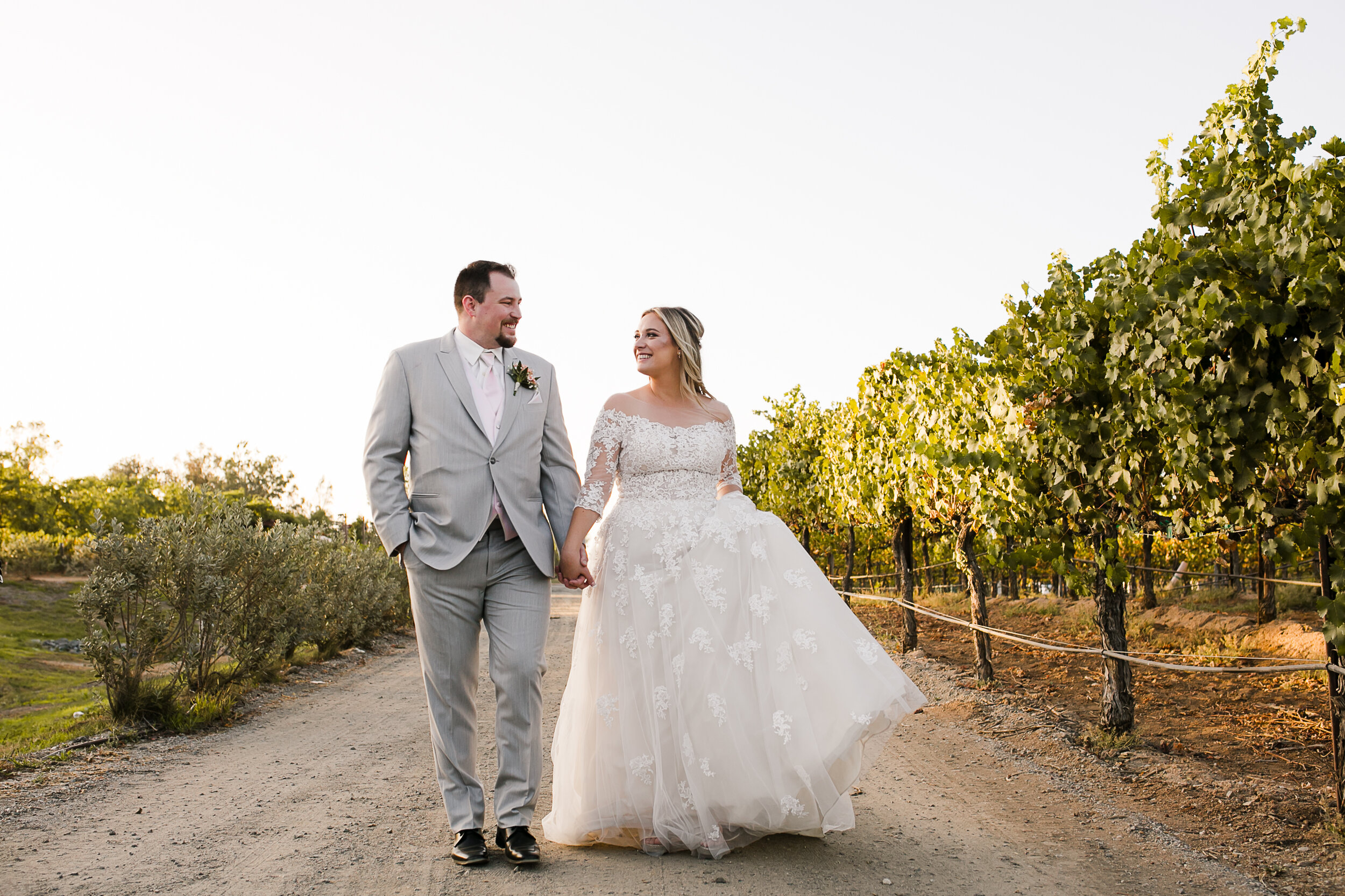 Holly and Trystan's Rustic Fall Wedding at Lorimar Vineyard and Winery in Temecula, CA