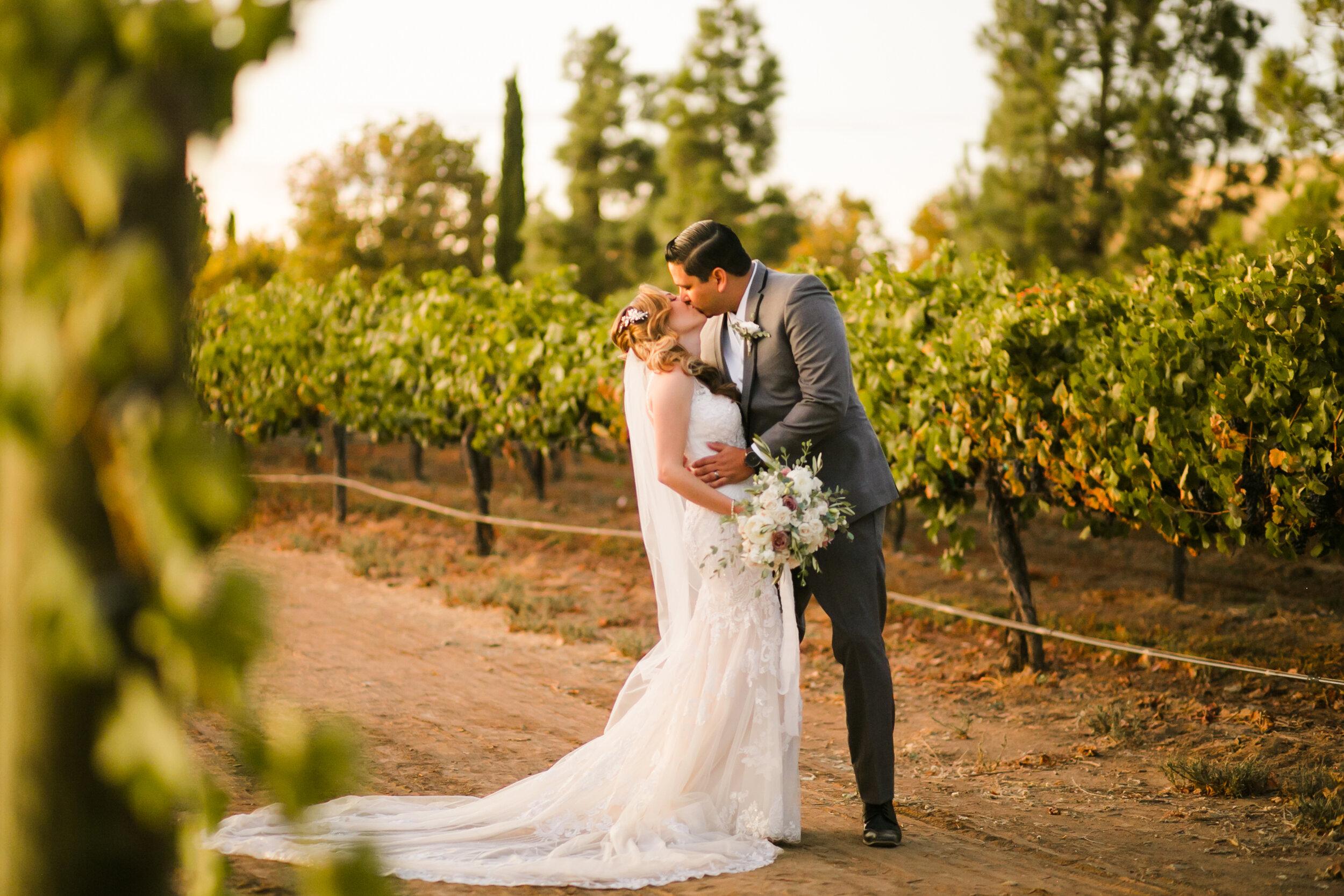 A Fall Vineyard Wedding at South Coast Winery - Temecula, Ca