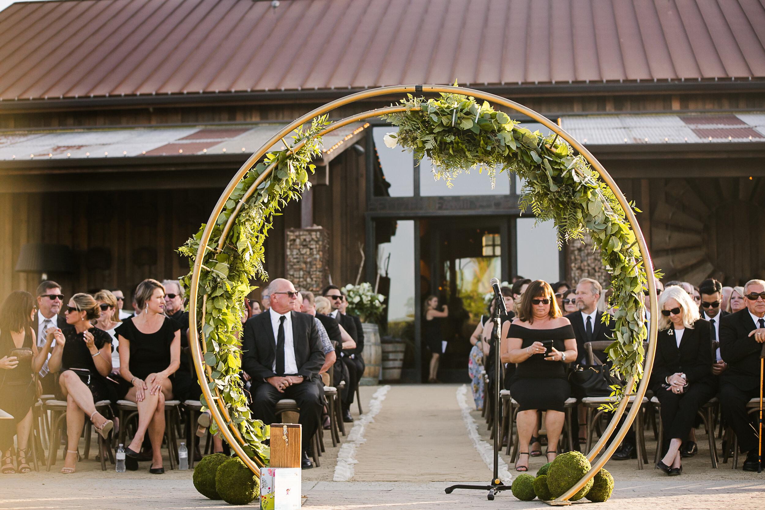peltzer wedding ceremony