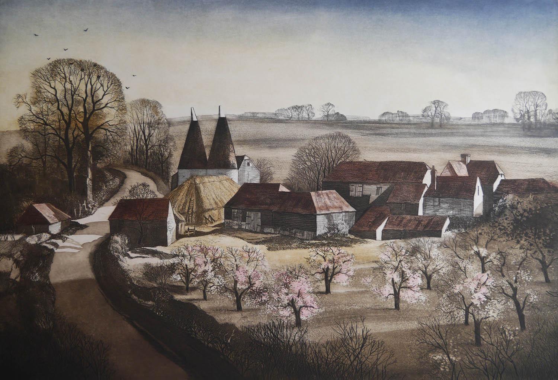 Rowland Hilder OBE Etchings