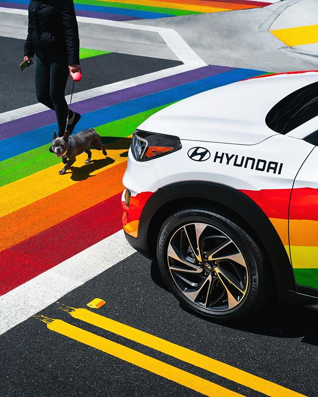 Even though Pride month for 2019 has passed, let's celebrate equality all year  and the years ahead 🍾🥂 @hyundaiusa #spreadjoynothate #pride #hyundaitucson #equalitymatters