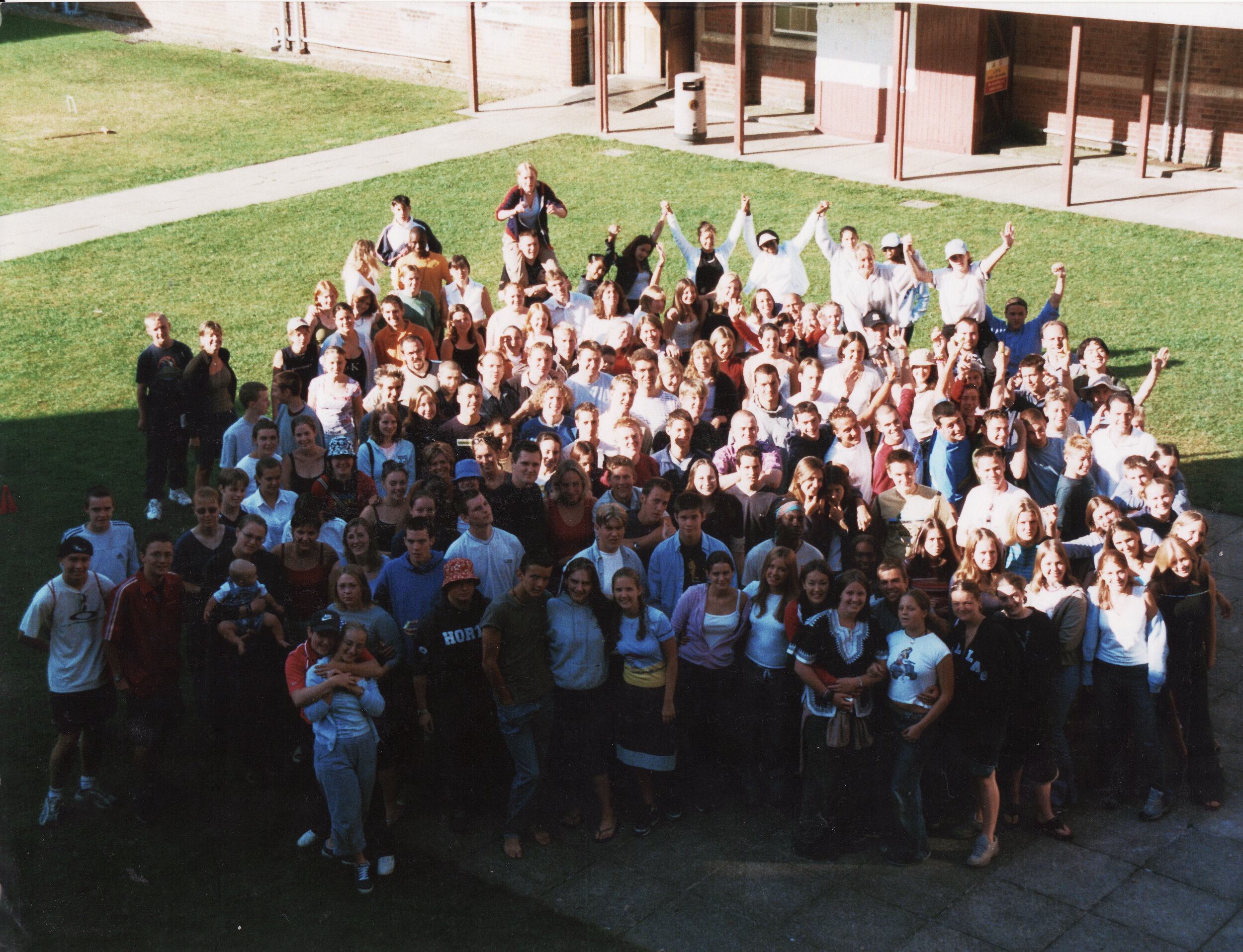 Summer B 2001 @ New Hall