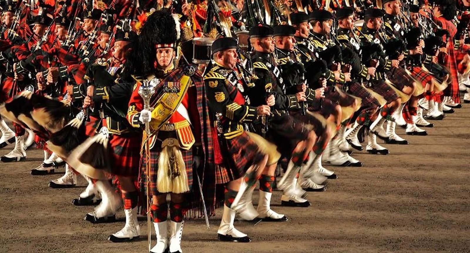 Le carrousel militaire royal d'Édimbourg