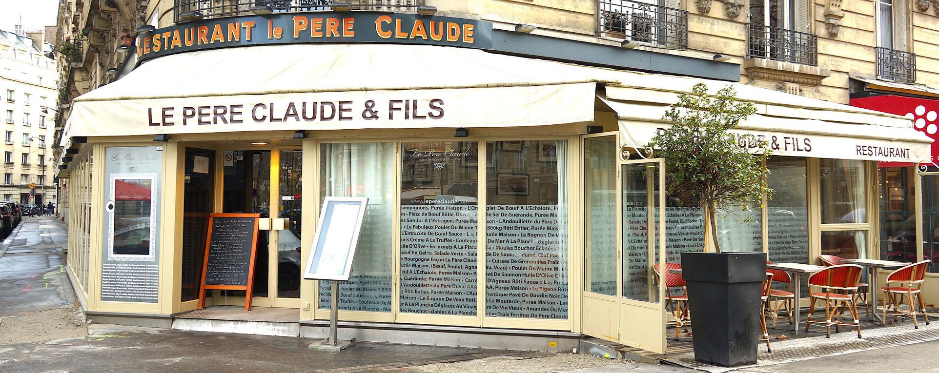 LE PERE CLAUDE - RESTAURANT