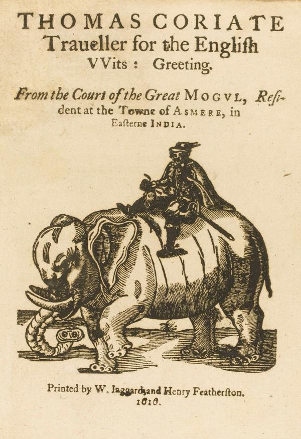 Traveller for the English , Thomas Coryat